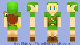 𝘠𝘰𝘶𝘯𝘨 𝘓𝘪𝘯𝘬 (Majora's Mask) Minecraft Skin