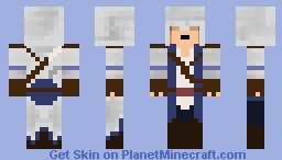 Connor Kenway - Assassin's Creed III Minecraft Skin
