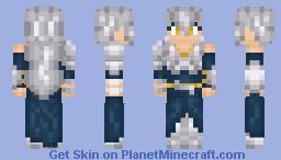 Ag (Silver) Minecraft Skin