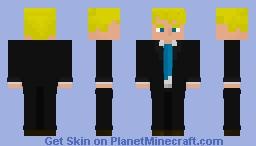 Agent Jonesy [ Fortnite ] Minecraft Skin