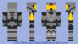 Agent Washington from Red VS Blue Minecraft Skin