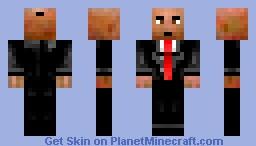 Agent 47 Minecraft Skin