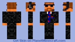 Agent Lembley (v2) Minecraft Skin