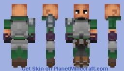 Agil - Sword Art Online Minecraft Skin