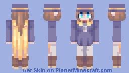 A Hat in Time - Hat Kid Minecraft Skin