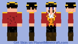 Five Nights with Mac Tonight/McDonald's Captain Crook Minecraft Skin