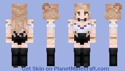 K/DA | Ahri Minecraft Skin