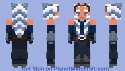 The Mandalorian: Ahsoka Tano Minecraft Skin