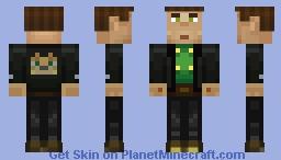 Aiden (Ocelots) (Minecraft Story Mode) Minecraft Skin