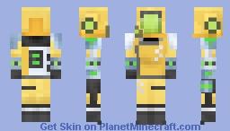 A.I.M. Researcher | STRIKE Minecraft Skin