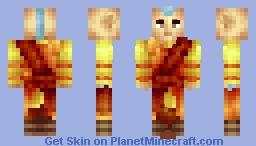 Airbending Master  - Avatar The Last Airbender/Korra Minecraft Skin