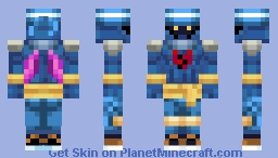 KH - Air Pirate Minecraft Skin