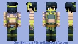 Akali, The Rogue Assassin | League of Legends Minecraft Skin