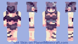 2021 back! | New OC Akari Minecraft Skin