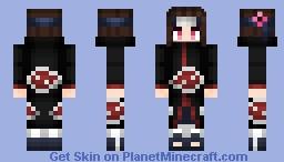 Akatsuki Bocchi Minecraft Skin