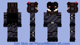 Goro Akechi - Black Mask Minecraft Skin