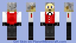 Akihiko Sanada (Persona 3) Minecraft Skin