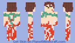 Akeno, The Koi Fish Minecraft Skin