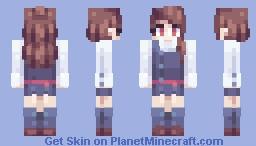 atsuko kagari // little witch academia Minecraft Skin