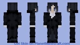 ryūnosuke akutagawa (bsd) Minecraft Skin