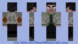 Alan Wake Minecraft Skin