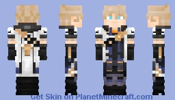 Albedo | Genshin Impact Minecraft Skin
