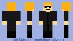 Albert Wesker Minecraft Skin