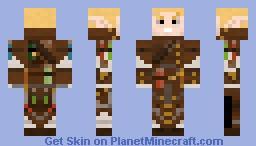 Elf alchemist Minecraft Skin