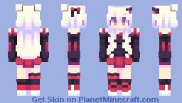 Red life💘 Minecraft Skin