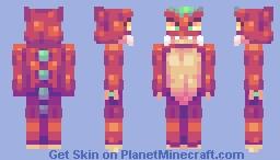 Baby Dragon Minecraft Skin