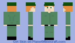 Army Personnel, from Korean War Minecraft Skin