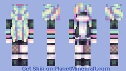 neonlight Minecraft Skin