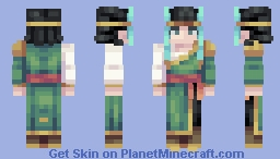 Mysterious Minecraft Skin