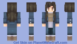 Clothes for autumn Minecraft Skin