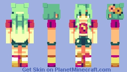 Sunset🌅 | ce Minecraft Skin