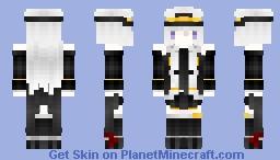Azur Lane USS Enterprise Minecraft Skin
