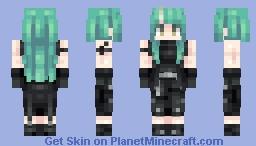 Hoshiguma - Arknights Minecraft Skin