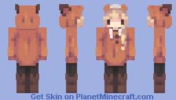 Fox ,_,🦊 Minecraft Skin