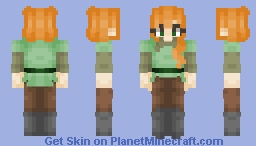 Alex - Redesign Minecraft Skin