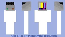 TV Minecraft Skin