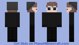 Another skin I made but I fixed the beanie and hair Minecraft Skin