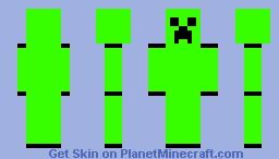 green creeper Minecraft Skin