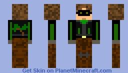 Masked Tree hugger Minecraft Skin