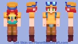 Original Jessie Minecraft Skin