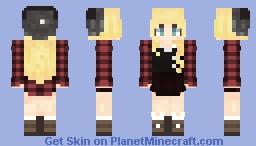 Kani Gayajiku (Hikari no Kenshin) Minecraft Skin