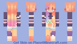 rainbow sherbet - sf Minecraft Skin