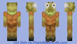 Praying mantis lady Minecraft Skin