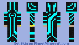 One Of Magic, TRON Minecraft Skin