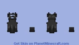 Black dress requested by Trypophobia_ Minecraft Skin