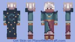 Dᥲrk Eᥣf Nιght Mᥱrᥴhᥲᥒt ✴ || Liounax Rose PC Minecraft Skin